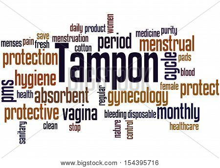 Tampon, Word Cloud Concept 8