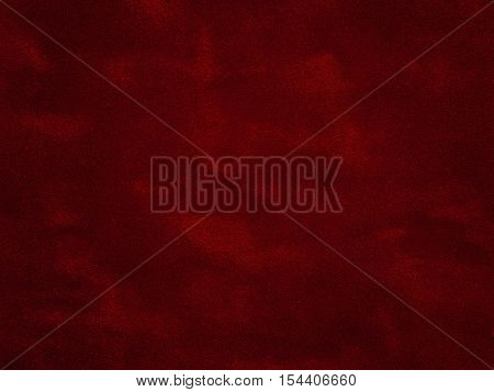 Close up surface of red velvet textured background