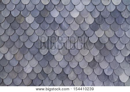 Norwegian grey slate roof shingles