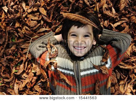 happy kid boy