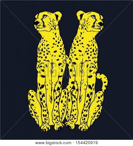 leopard illustration