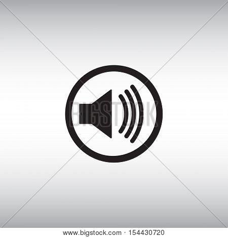 Sound Vector Icon Vector Photo Free Trial Bigstock