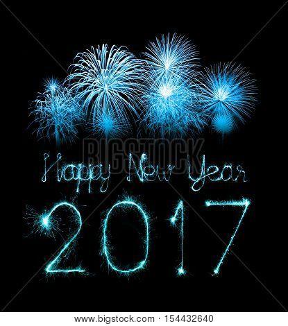 2017 Happy New Year Firework Sparklers