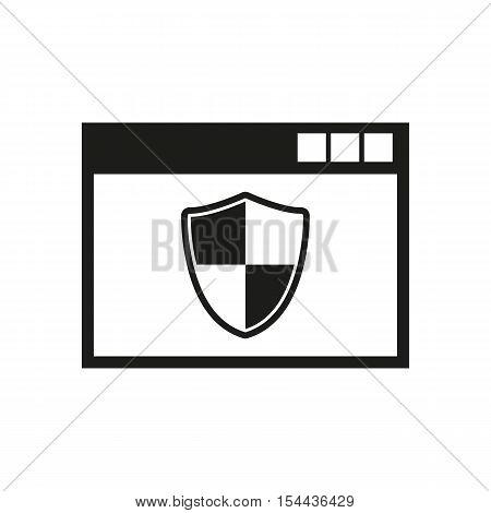 Antivirus icon. Antivirus vector design. Firewall symbol. Antivirus icon web. Antivirus icon graphic. Antivirus icon JPG. AI. app. logo. object. flat. image. sign. eps. art. picture - stock vector