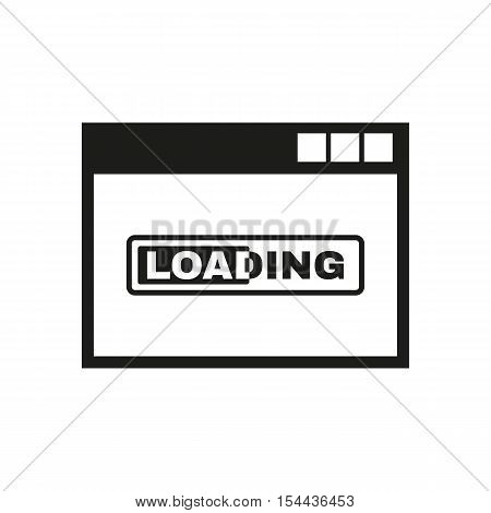 Loading icon. vector design. loading symbol. web. graphic. JPG. AI. app. logo. object. flat. image. sign. eps. art. picture - stock vector