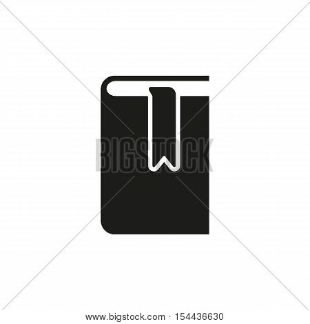 Book and bookmark icon. vector design. Library symbol. web. graphic. JPG. AI. app. logo. object. flat. image. sign. eps. art. picture - stock vector