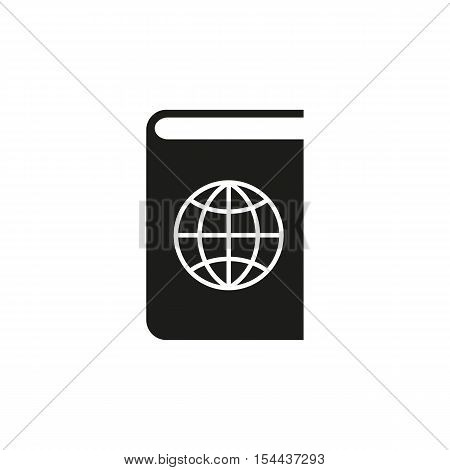 Atlas and globe icon. vector design. Geography symbol. web. graphic. JPG. AI. app. logo. object. flat. image. sign. eps. art. picture - stock vector