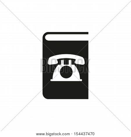 Phonebook icon. vector design. Telephone book symbol. web. graphic. JPG. AI. app. logo. object. flat. image. sign. eps. art. picture - stock vector