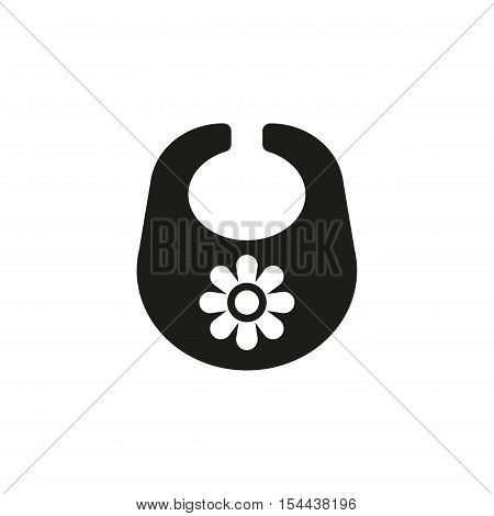 Bib icon. design. Breastplate and apron symbol. web. graphic. AI. app. logo. object. flat. image. sign. eps. art. picture - stock vector