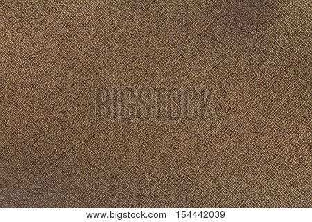 Brown leather texture or leather background for design with copy space for text or image. Rough leather fabric.