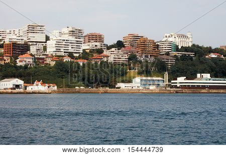View of Santander from the Cantabria sea