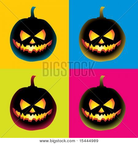 Pop Art Pumpkin