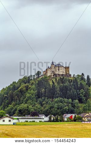 Schloss Strassburg is a castle on the hill in Strassburg Carinthia Austria