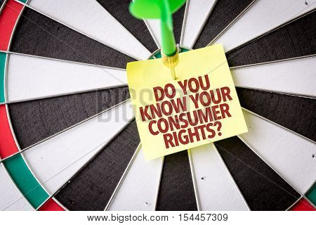 Do You Know Your Consumer Rights?