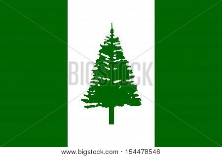 Flag of Norfolk Island (Australia) - Kingston