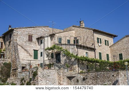 Spello. Beautiful medieval town in Umbria in Italy.