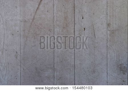Worn and Scuffed Gray Wooden Plank Texture