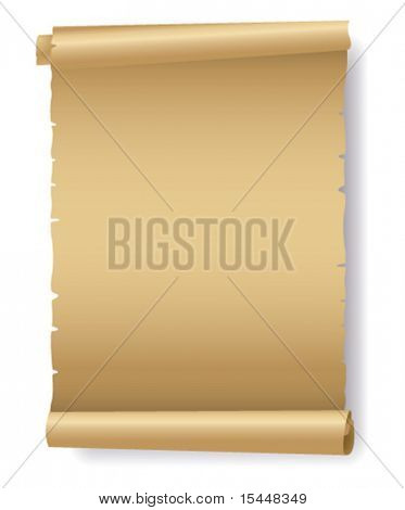 Old paper vector