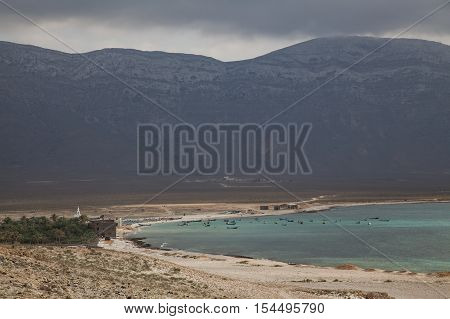Seaside of an island of Socotra in Yemen