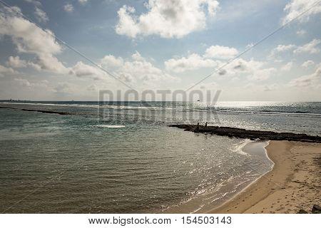 Beach In Porto De Galinhas, Recife, Pernambuco - Brazil