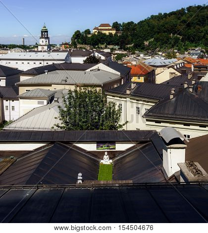Place Of Worship On The Roof, Salzburg