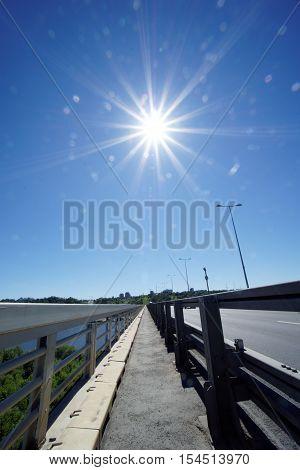 Nizhny Novgorod, Russia. - June 28.2016. Metro Bridge Across The Oka River.