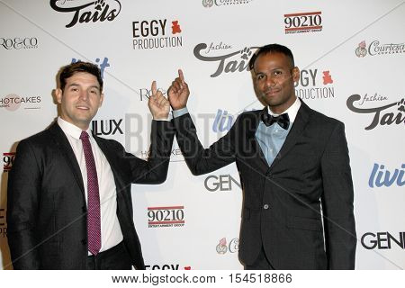 Erick Stryker and Ryan Jerome arrive at the