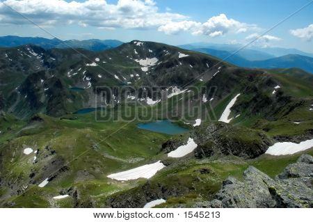 Lakes In Rila Mountain, Bulgaria