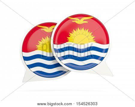 Flag Of Kiribati, Round Chat Icon