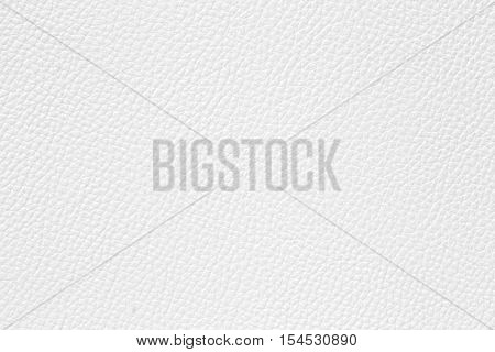 Close up of white leather texture background