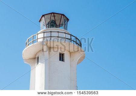 El Faro lighthouse in Playas de Tijuana in Tijuana, Mexico.