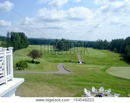 Country Club Golf Course on a summer day