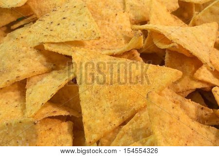 Fragrant Mexican Yellow Tortillas Chips