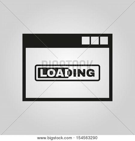 Loading icon. vector design. loading symbol. web. graphic.