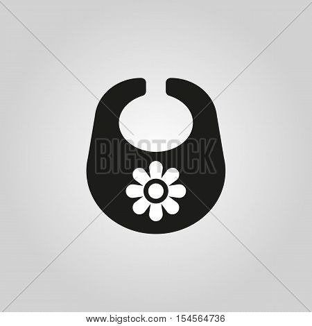 Bib icon. design. Breastplate and apron symbol. web. graphic.