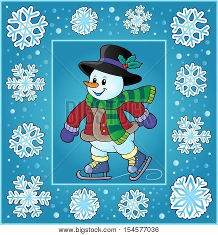 Christmas thematics greeting card 4 - eps10 vector illustration.