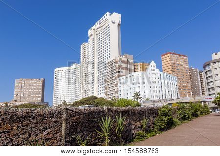 Commercial And Residential Buildings On Golden Mile Beachfront