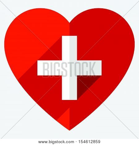 Stock Illustration With Heart Motif, Heart Shape