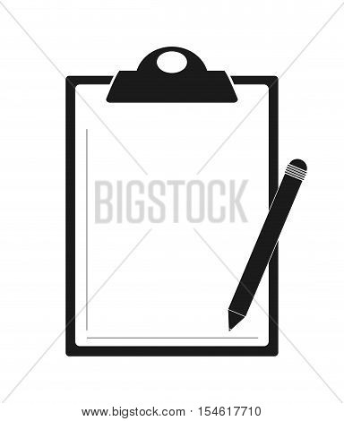 Document icon. Data archive storage and organize theme. Isolated design. Vector illustration