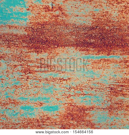 rusty old metal trash background for design