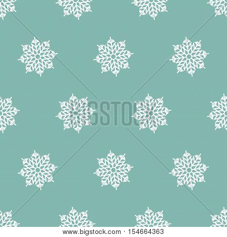 Digital Paper for Scrapbooking Blue white Snowflakes Frozen Texture seamless.