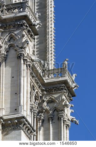 Notre Dame Cathedral Detail