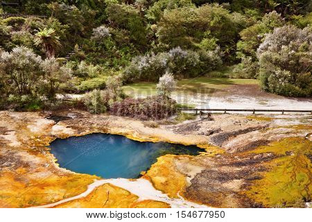 Orakei Korako geotermal area, New Zealand