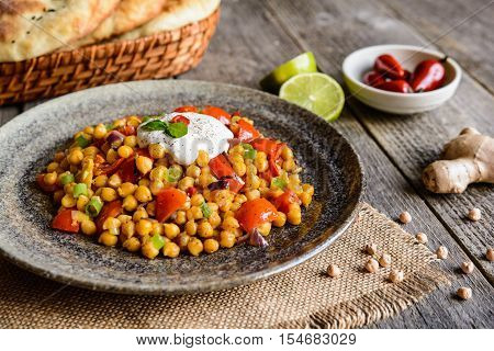 Traditional Channa Masala – Spicy Chick Peas
