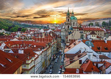 Prague Czech Republic. Old Town Prague Castle