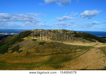 An absolutely gorgeous look at Arthur's Seat in Edinburgh Scotland.