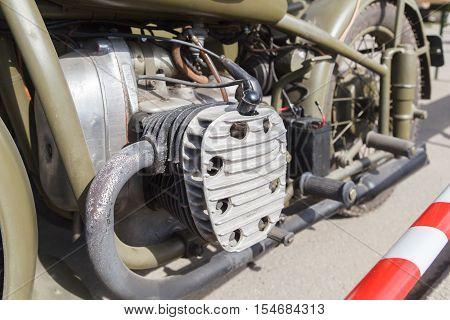 Motorcycle Engine Urals