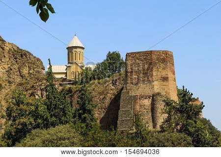 Tbilisi Old Town, Of The Capital Of Georgia
