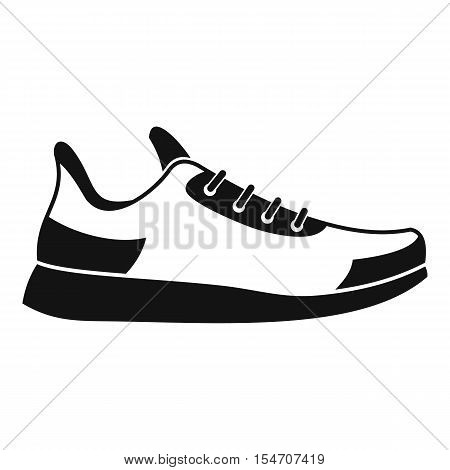 Sneaker icon. Simple illustration of sneaker vector icon for web