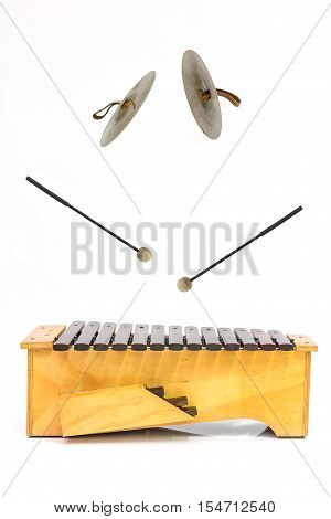 The Xylophone And Cymbal